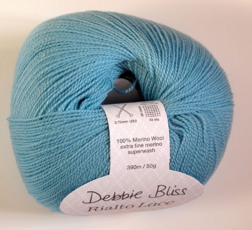 Debbie Bliss Rialto lace -Duck egg blue